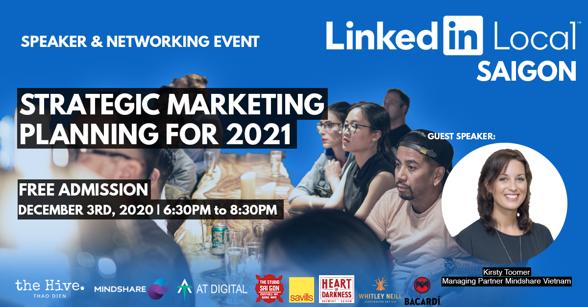 LinkedIn Local Saigon #1 - Strategic Marketing: Planning for 2021